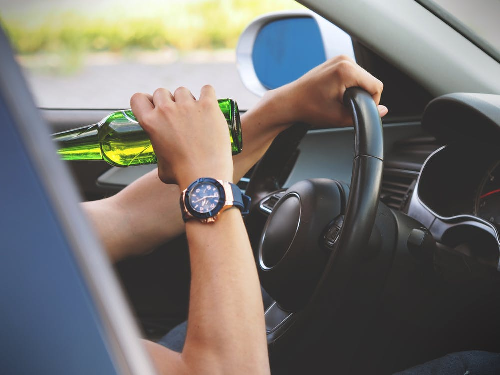 Drink driving.